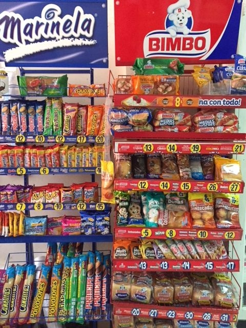 Bimbo is the Mexican equivalent of junk food purveyor Hostess.