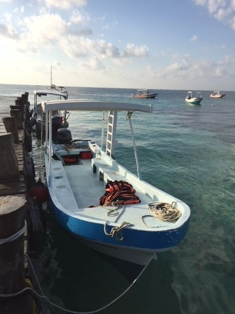 A  lancha , a basic boat with hard wooden seats, no toilet, and basic fishing gear is the standard vessel offered by beachside fishing operations.