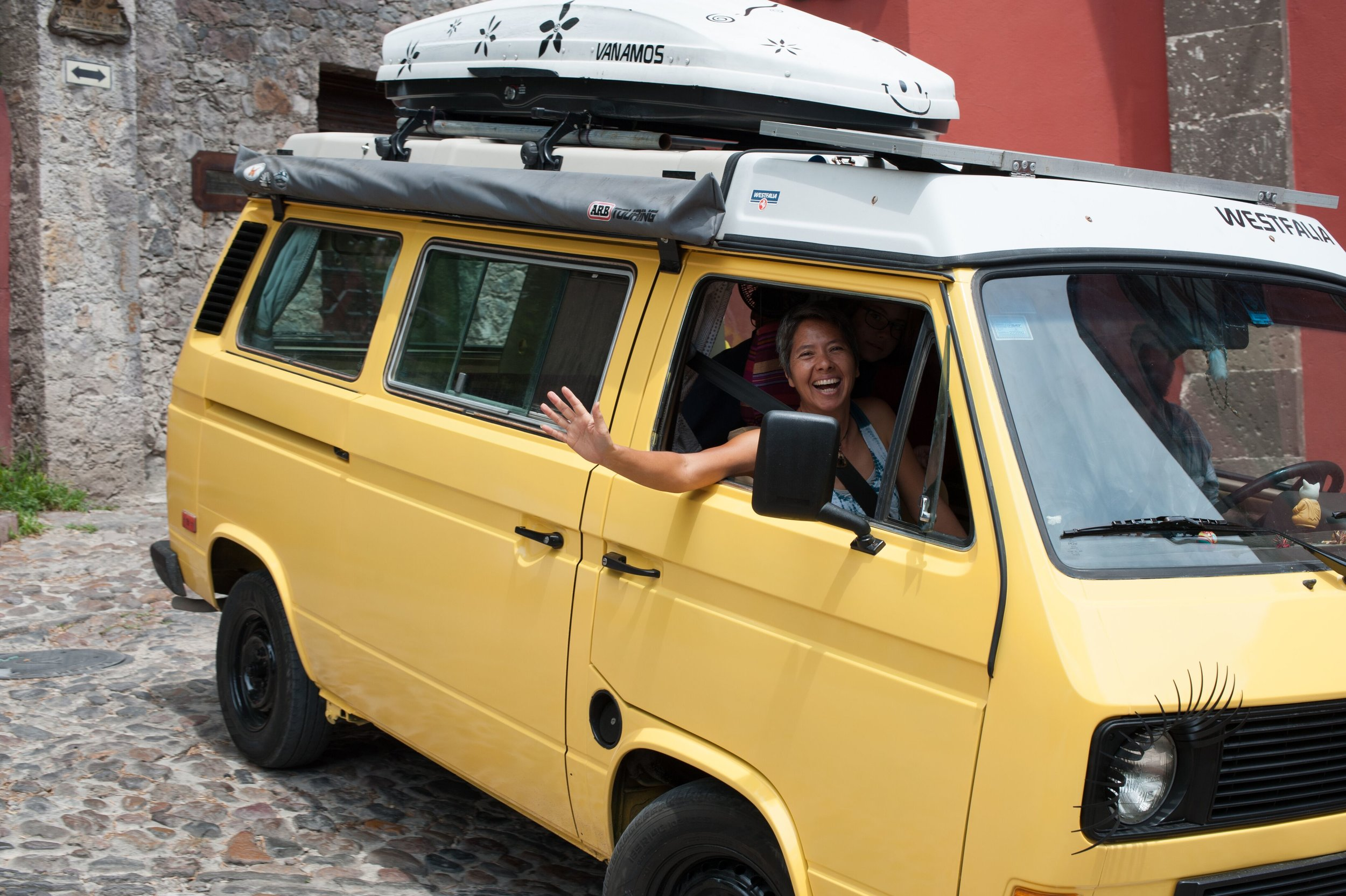 If you haven't yet heard enough about our travels in Wesley, our VW Westy camper van, you are in luck. I'm writing a book about it.