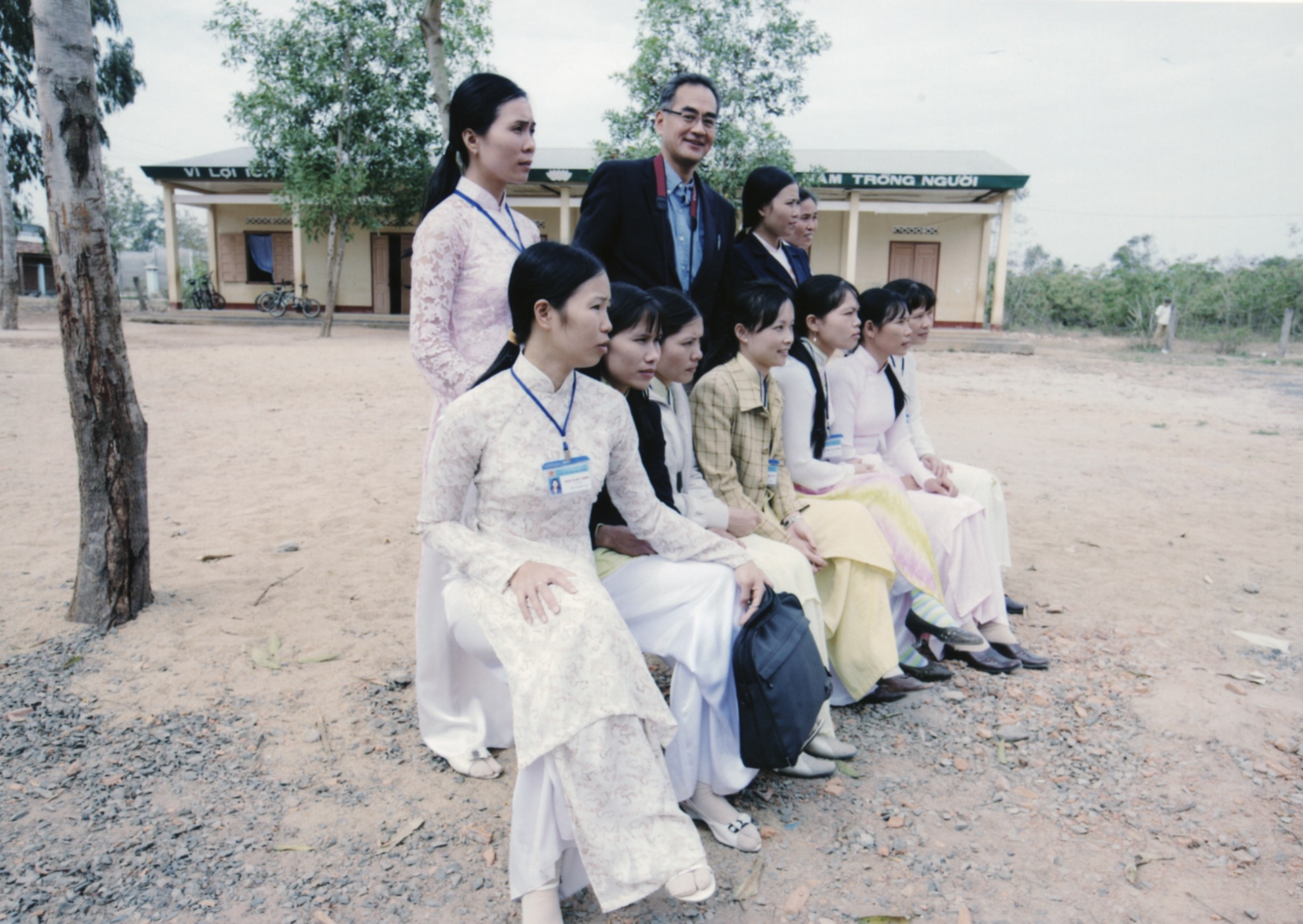 Opening Ceremony for a Primary School in Kontum Prov. (Central Highland) 2008 - 10.jpeg
