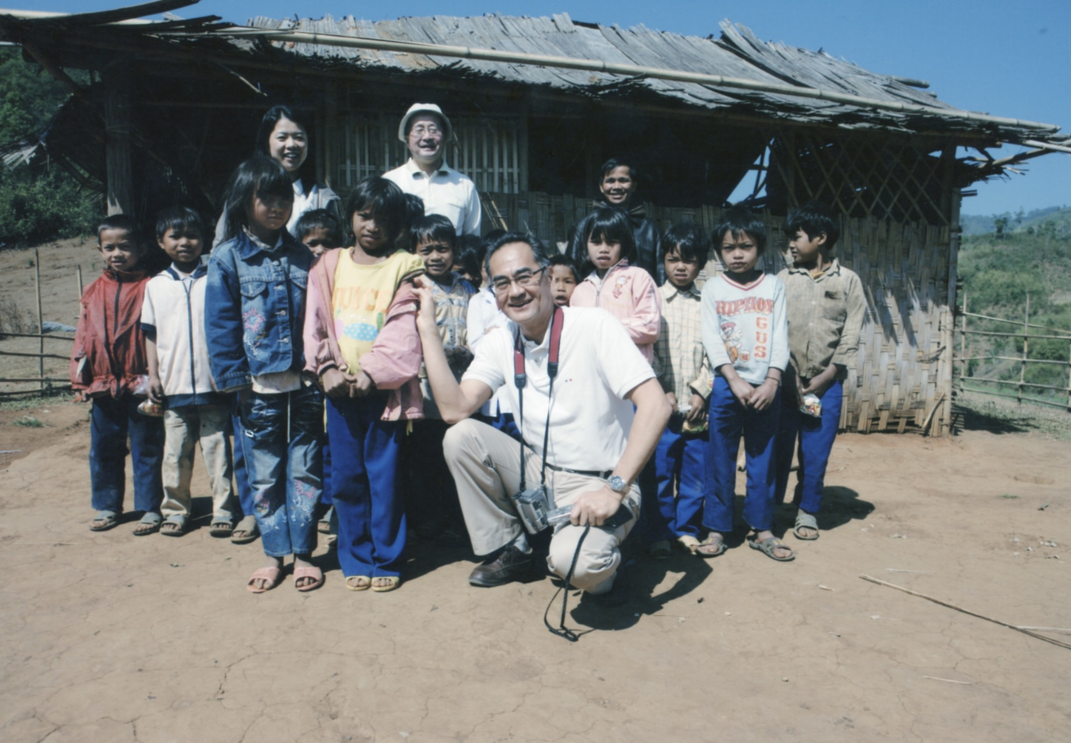 Opening Ceremony for a Primary School in Kontum Prov. (Central Highland) 2008 - 17.jpeg