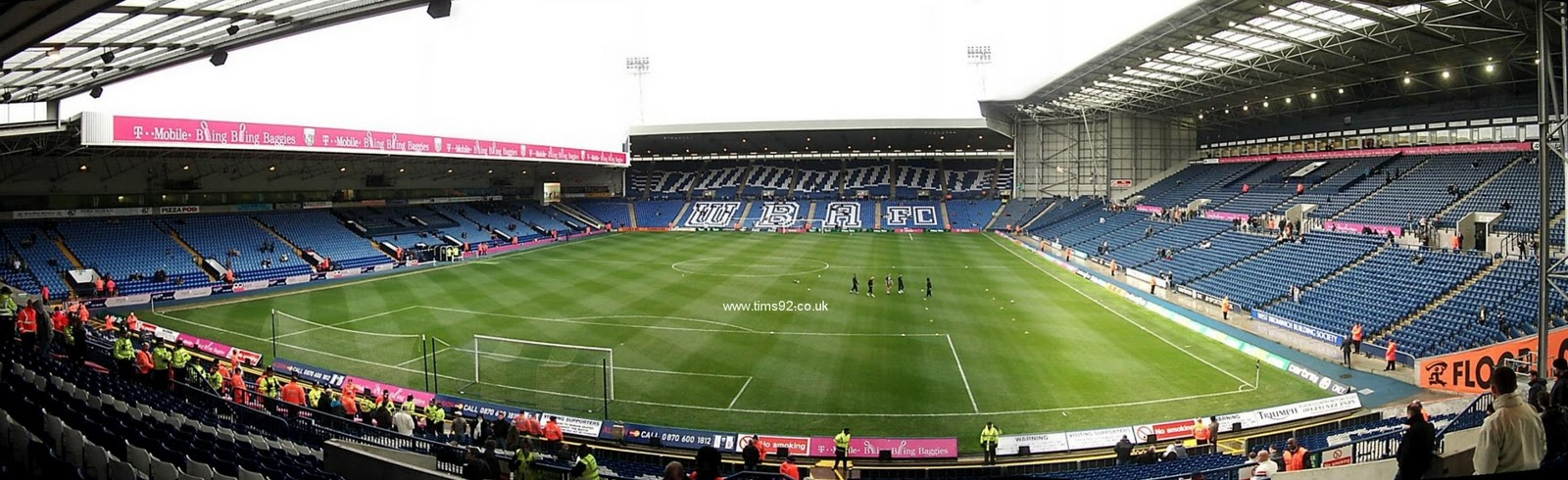 The dream was to play at The Hawthorns