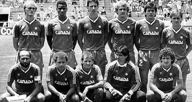 Canada Men's Football Team in the 1986 World Cup, Mexico