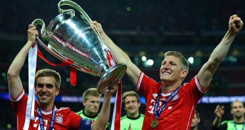 Products of the Bayern Munich II youth team, Philipp Lahm and Bastian Schweinstiger