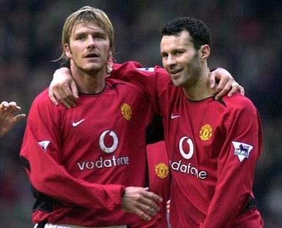 David Beckham and Ryan Giggs, Class of '92
