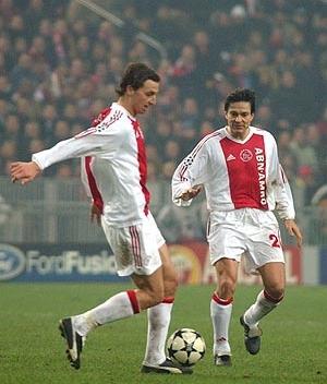 Zlatan and Jari Litmanen, Ajax