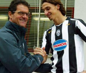 Capello and Zlatan