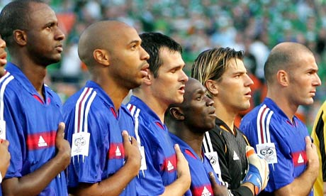The diversity of the French National Football Team