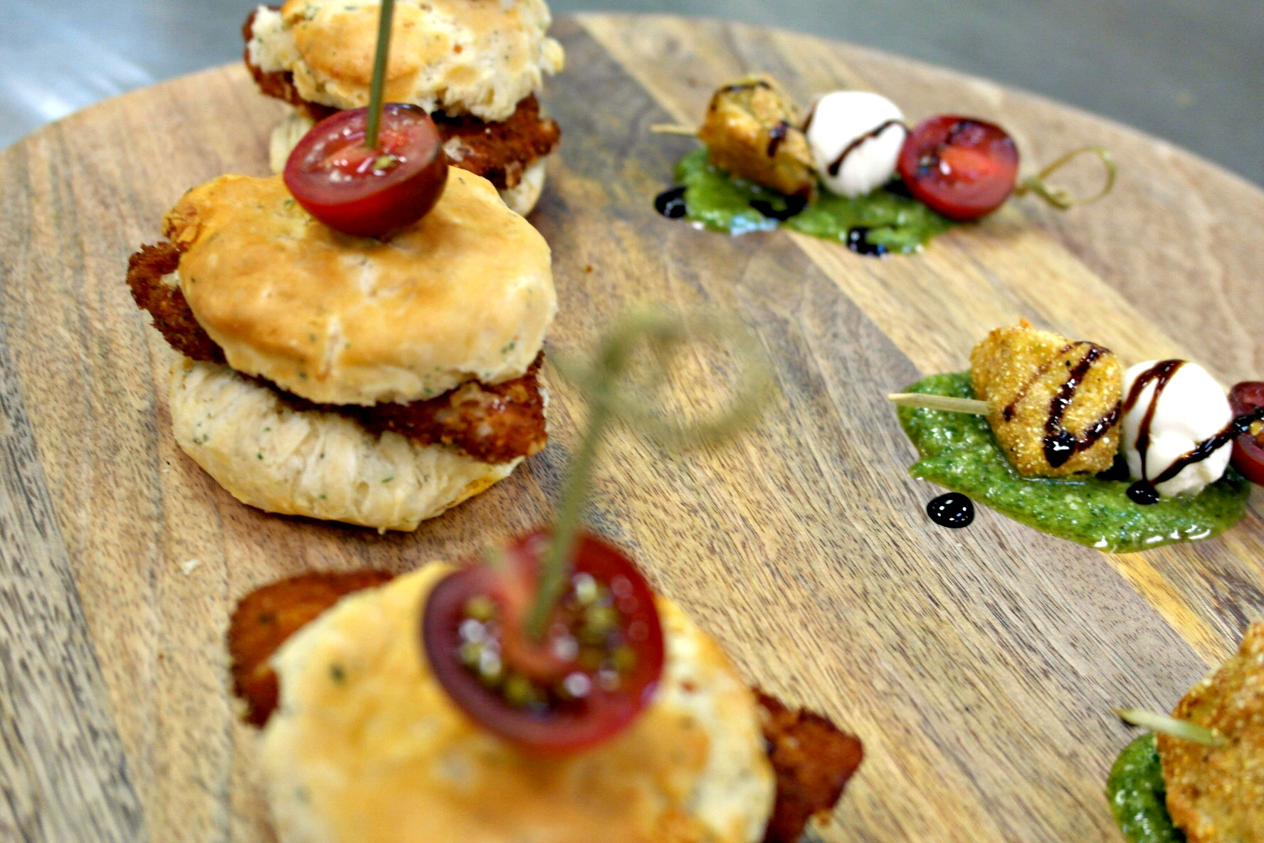 Italian Chicken & Biscuit with Tomato Jam