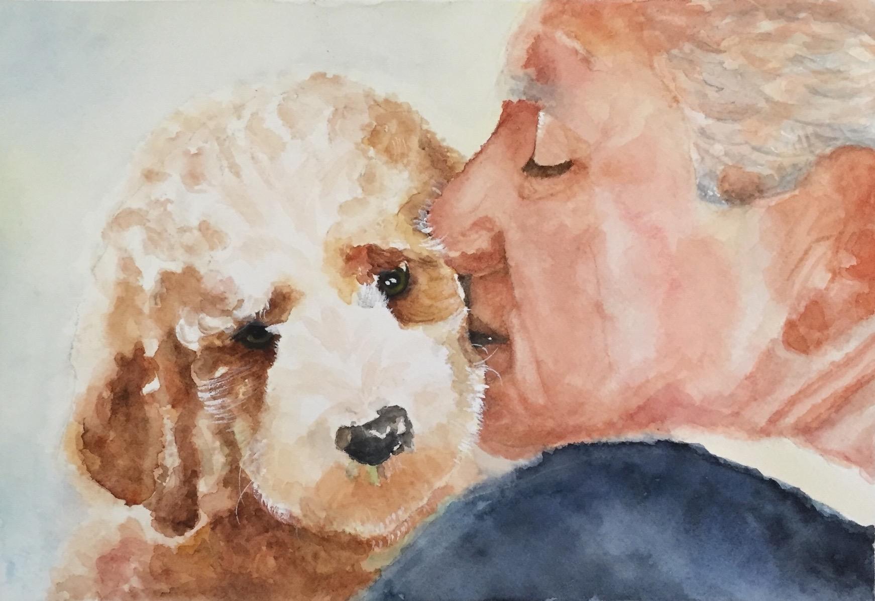 A Dad & His Pup