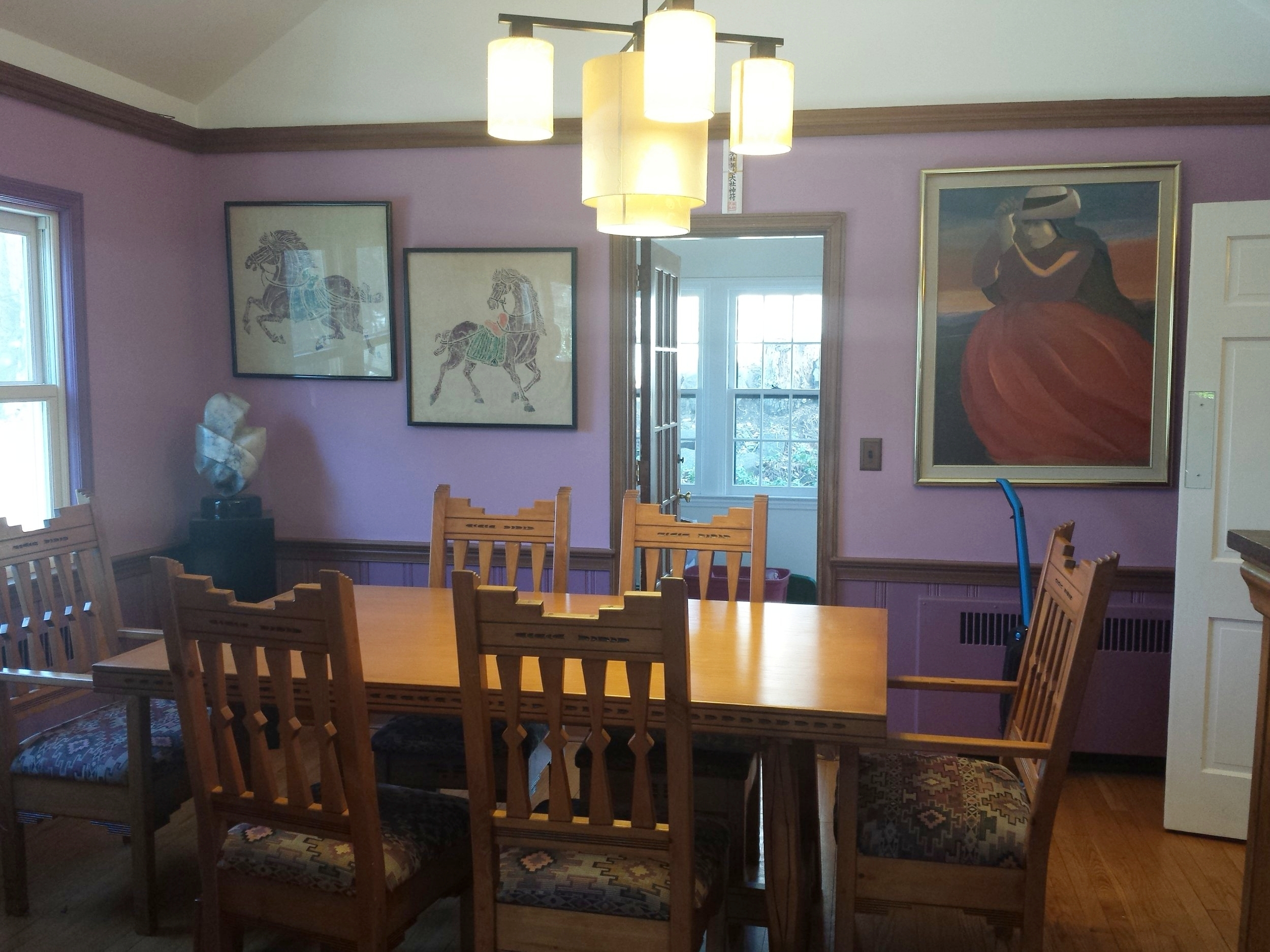 Before Staging the Dining Room!