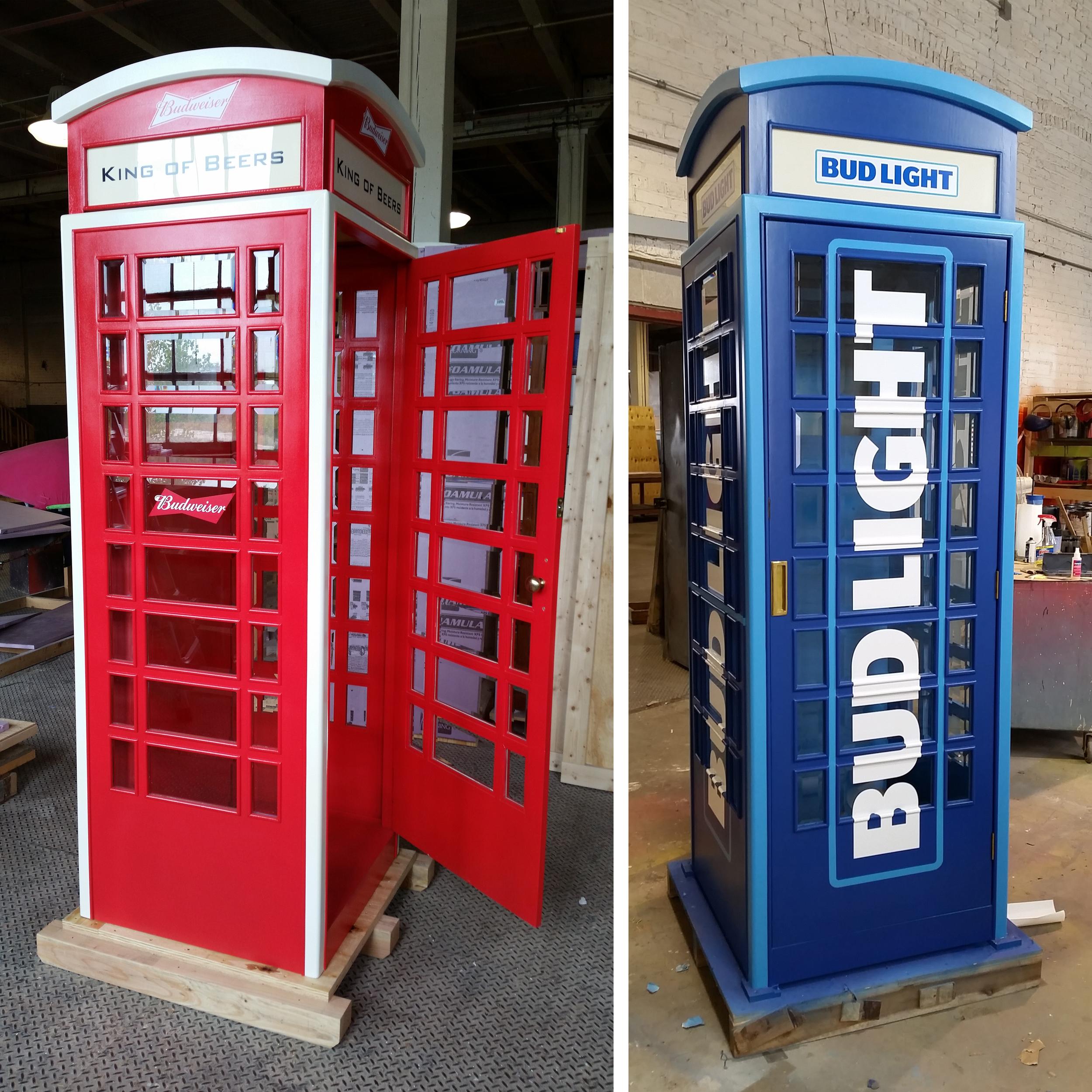 Anheuser Busch Phonebooths