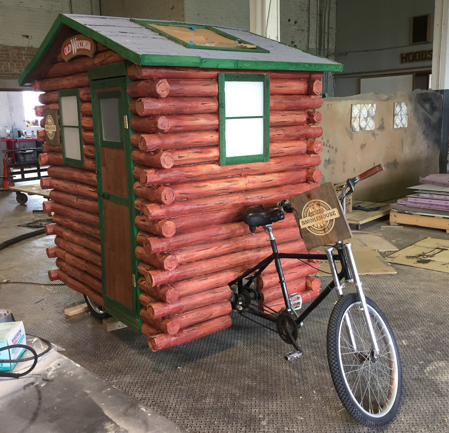 Pedi-Cabin