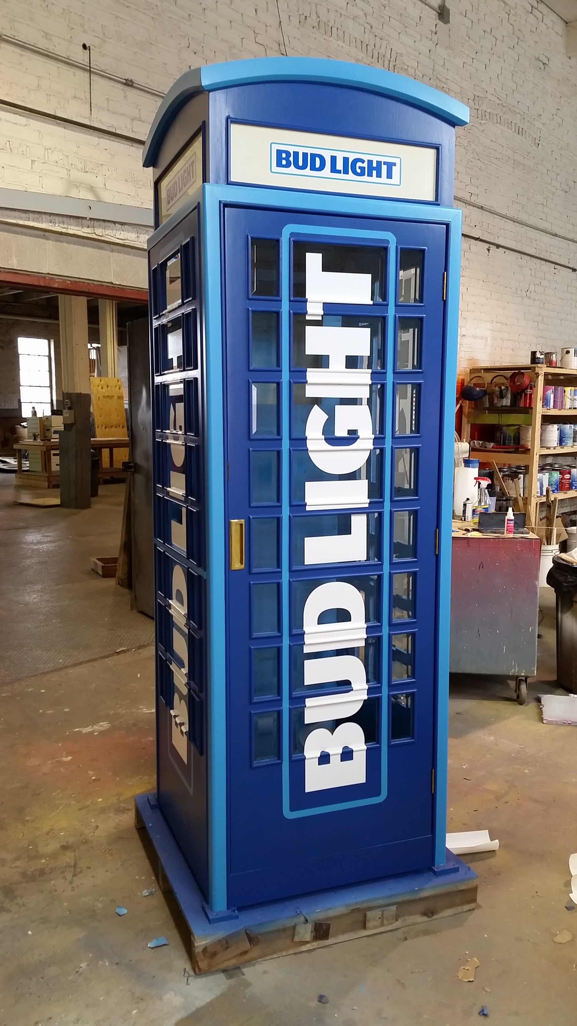 Bud Light Booth | Touring