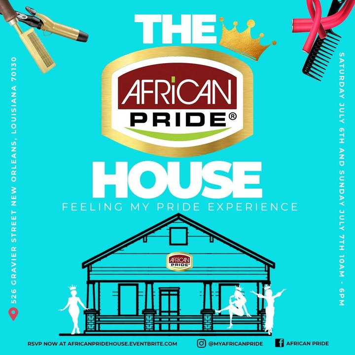 African Pride Essence Fest Retail Pop Up - Client - African Pride Inc, FCM 365Foot Traffic - 5000+