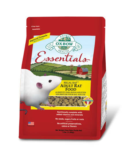 Oxbow Rat Food - lab block