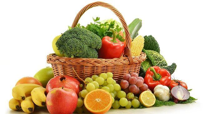 Fruits and vegetables!