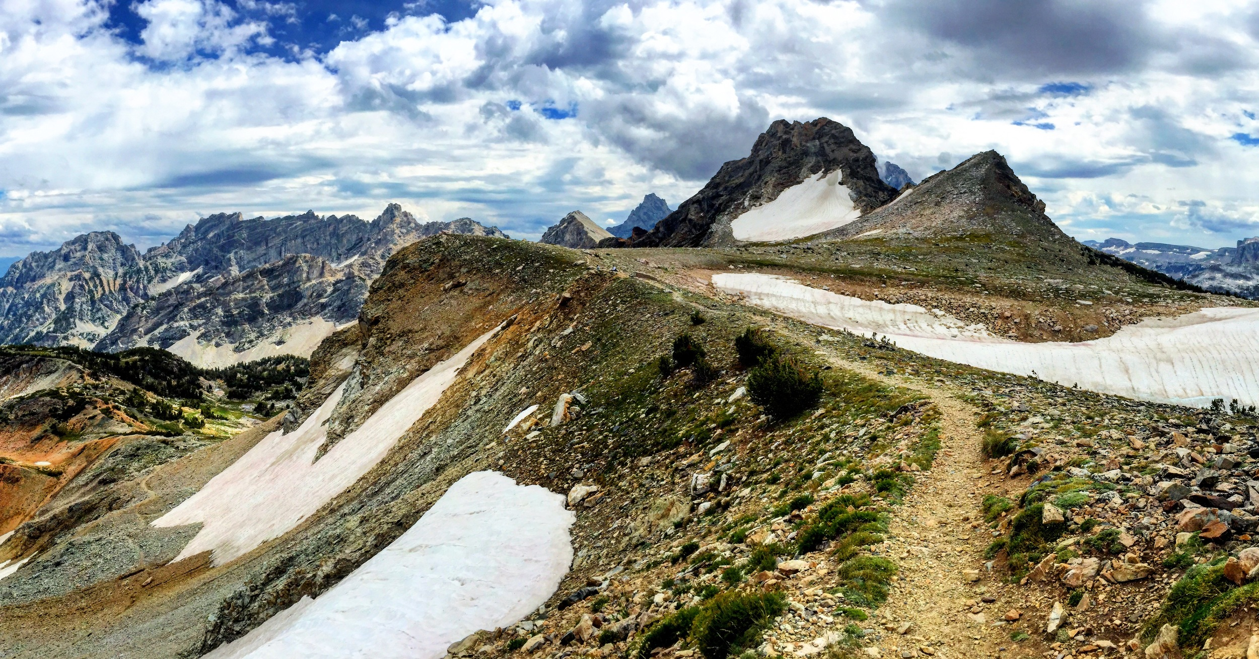 Paintbrush Divide. Toughest day of the hike.