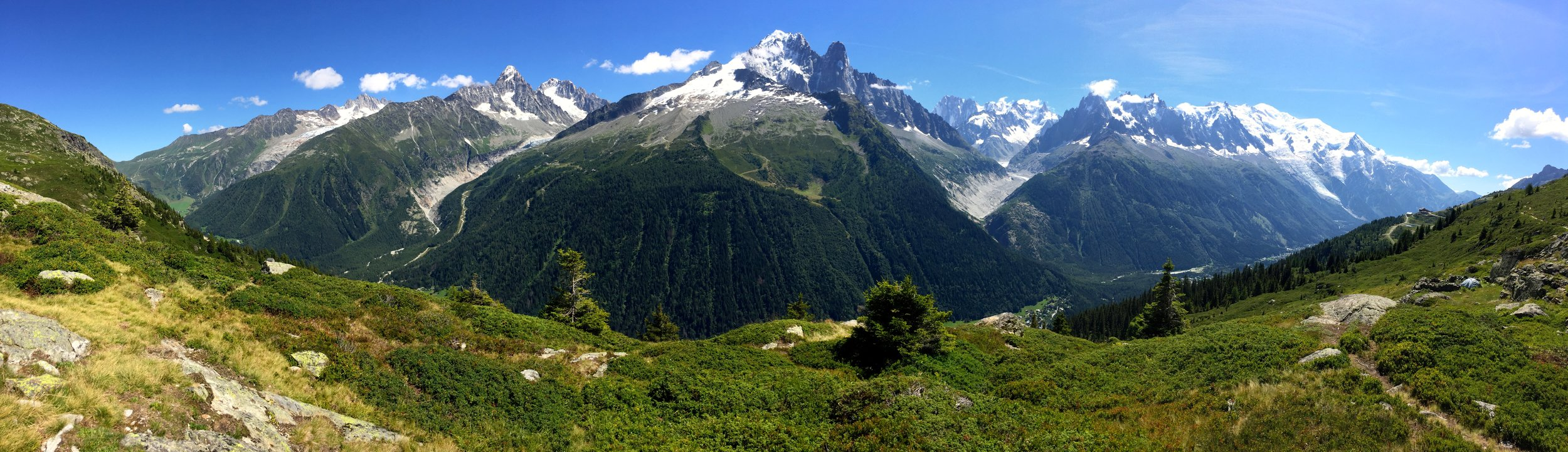 Chamonix Valley in all of its glory.