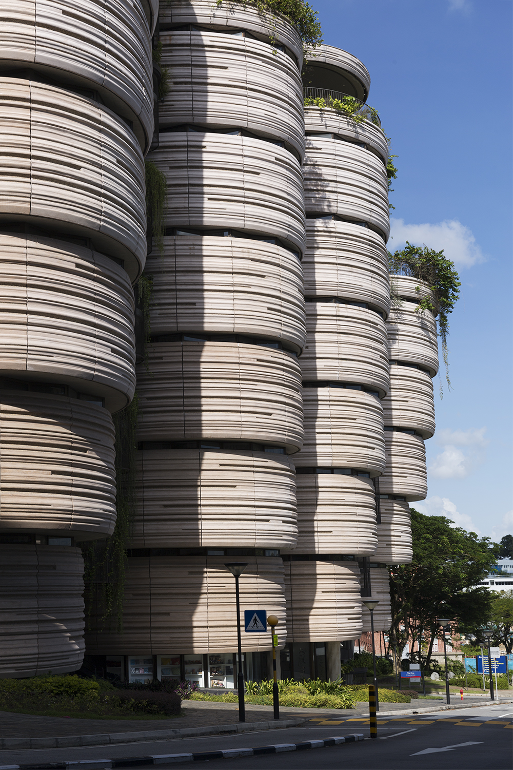 The Hive, Nanyang Technological Univeristy  Heatherwick Studio