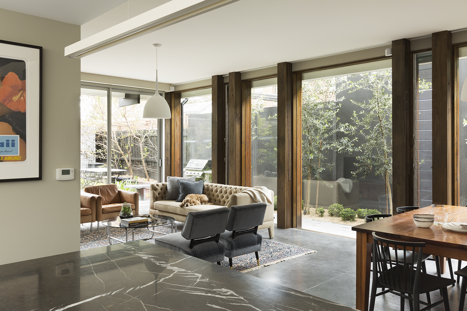 Clifton Hill House by David Neil  Interiors and styling by Meredith Lee