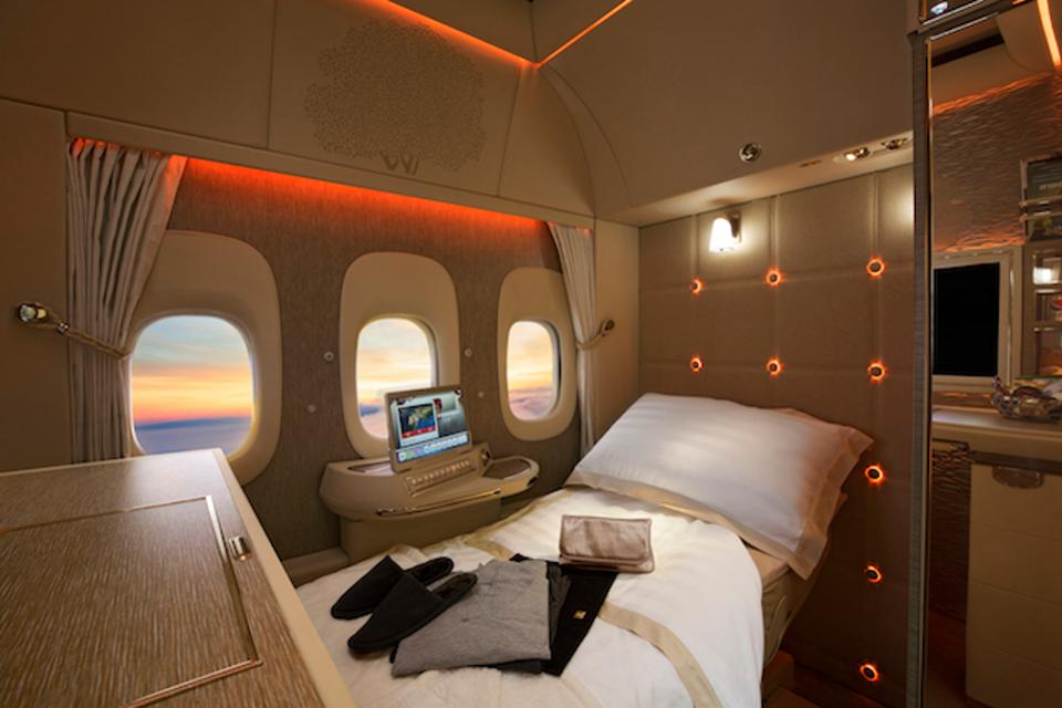 Will the new Emirates first class suite still be worth it to you even with the surcharges? - Image courtesy of Emirates