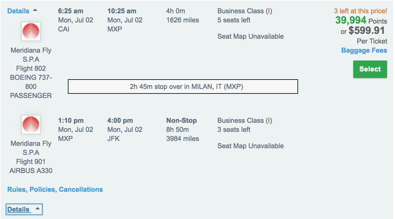 Air Italy Business Class Deal via Ultimate Rewards.png