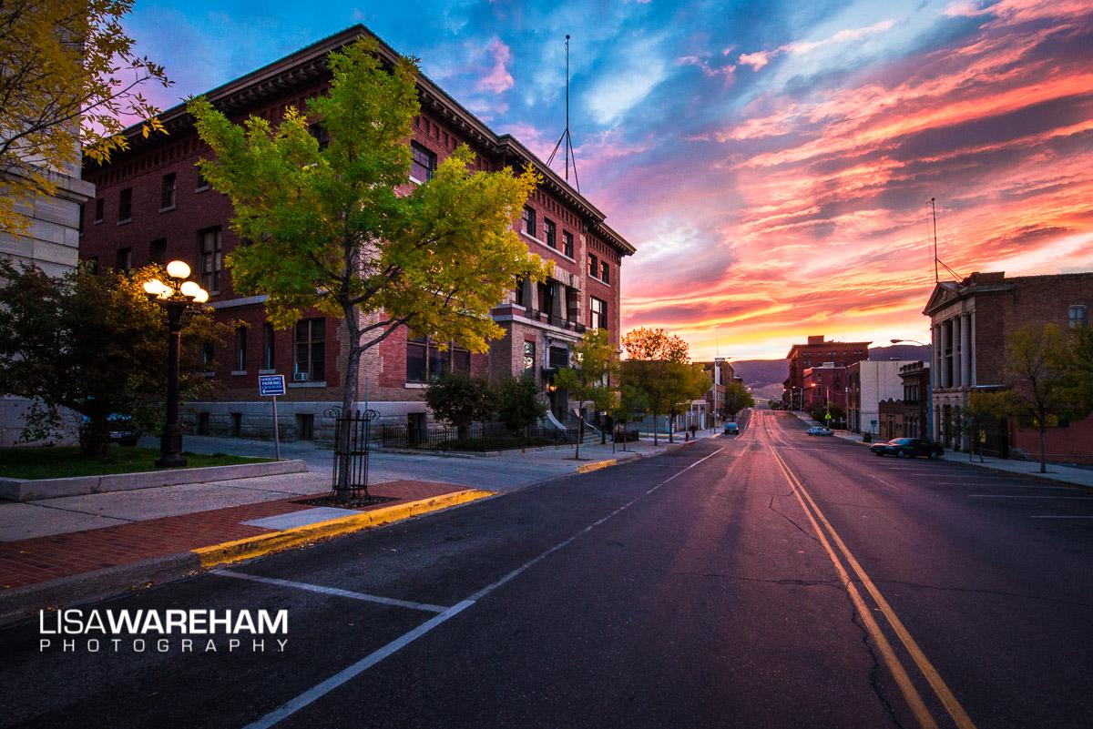 sunset-on-granite-street-butte-montana