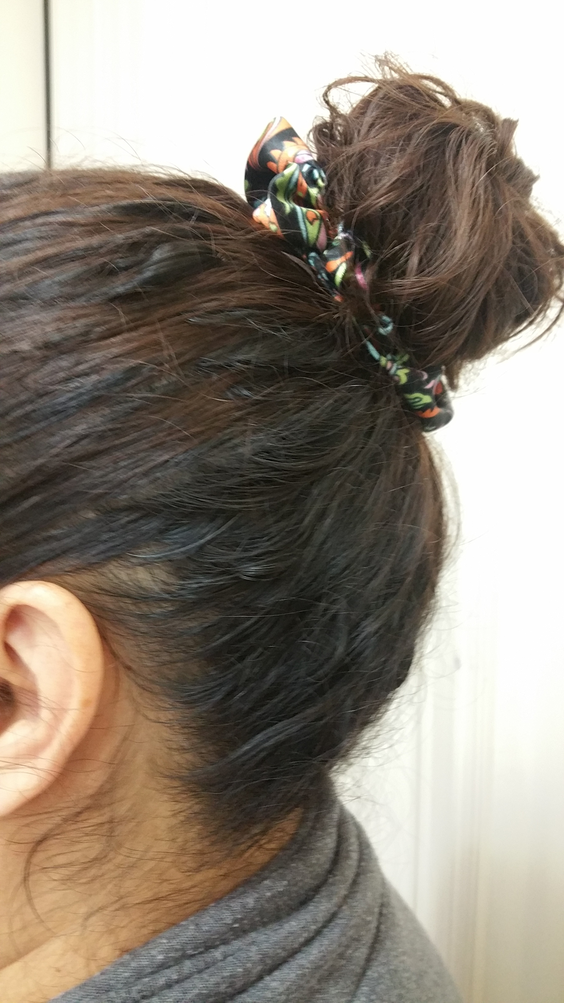 Summer Nights Satin Scrunchie