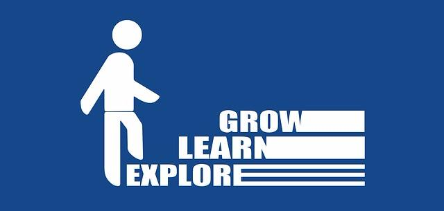 The progression is all about learning and growth.