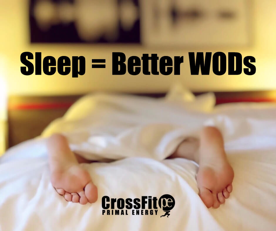 Not getting enough sleep affects weight loss, building muscles, crossfit workouts, recovery time, and a host of other athlete-related concerns.