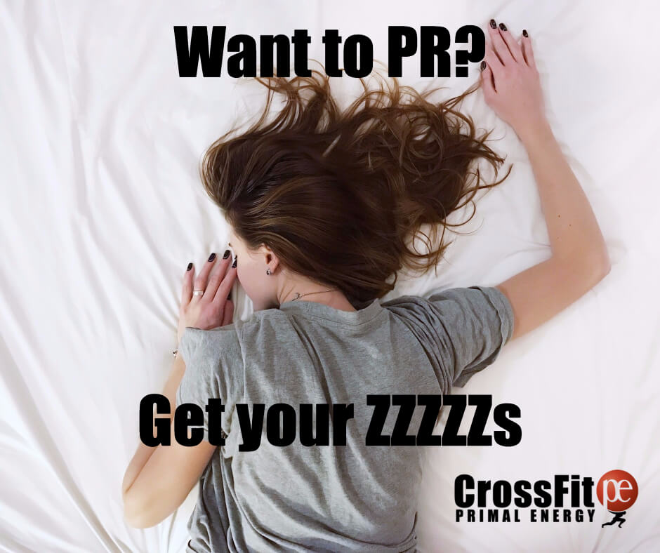 Get more sleep and increase your energy for class, weight lifting, and just plain thinking beter.