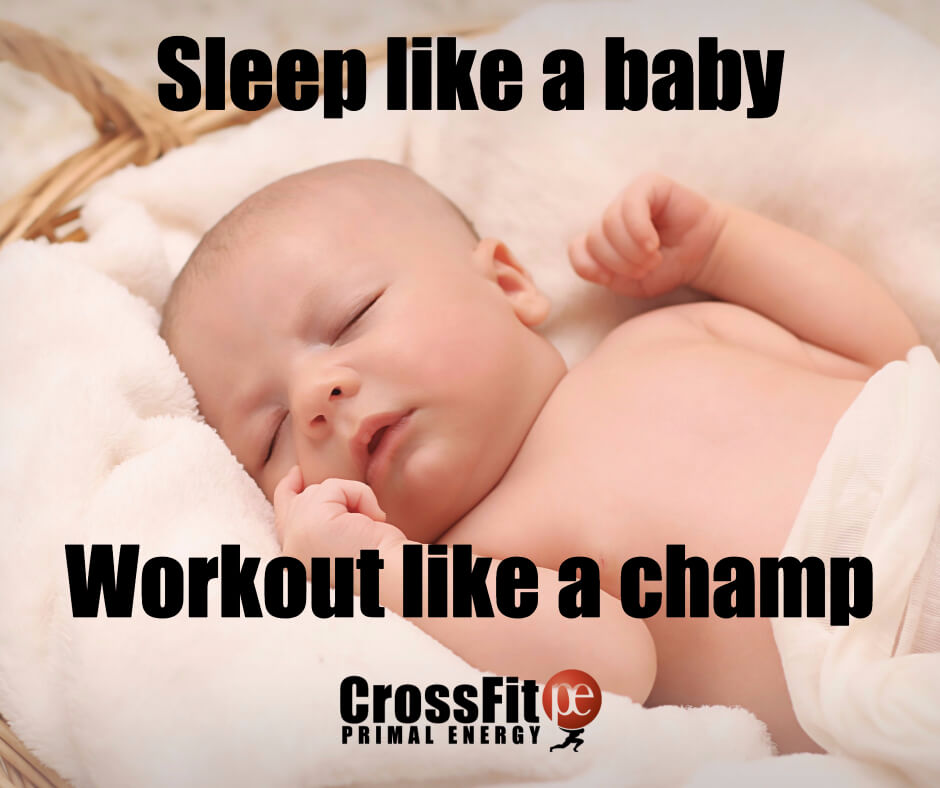 Increase your natural human growth hormone during sleep - it will help your tissues recover quicker after a workout.
