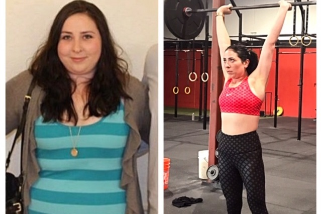 Grace has been following our nutrition plan for the last year and has lost over 50lbs!