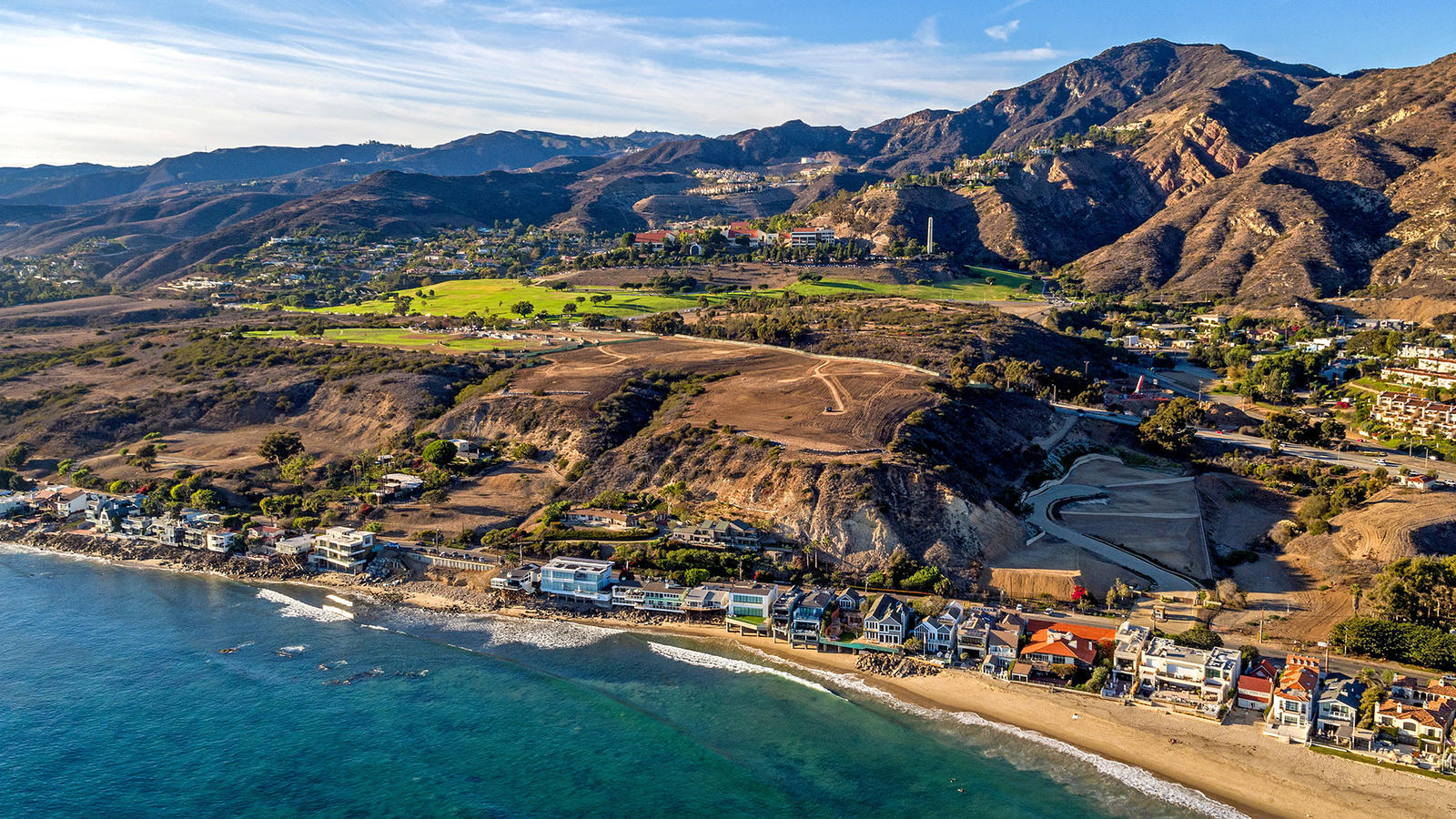 Developer Scott Gillen bought this undeveloped 24-acre property above Malibu Colony. (Berlyn Photography)