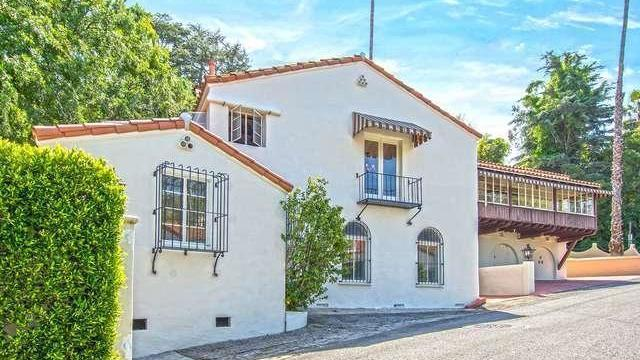 The Spanish Colonial in Hollywood Hills came on the market at $2.45 million. (Redfin.com)