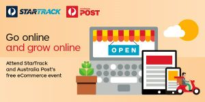 Look up  Australia Post events  for Small Business, including the Go and Grow Events.    Click Here    for the Go and Grow Online presentation Links page.