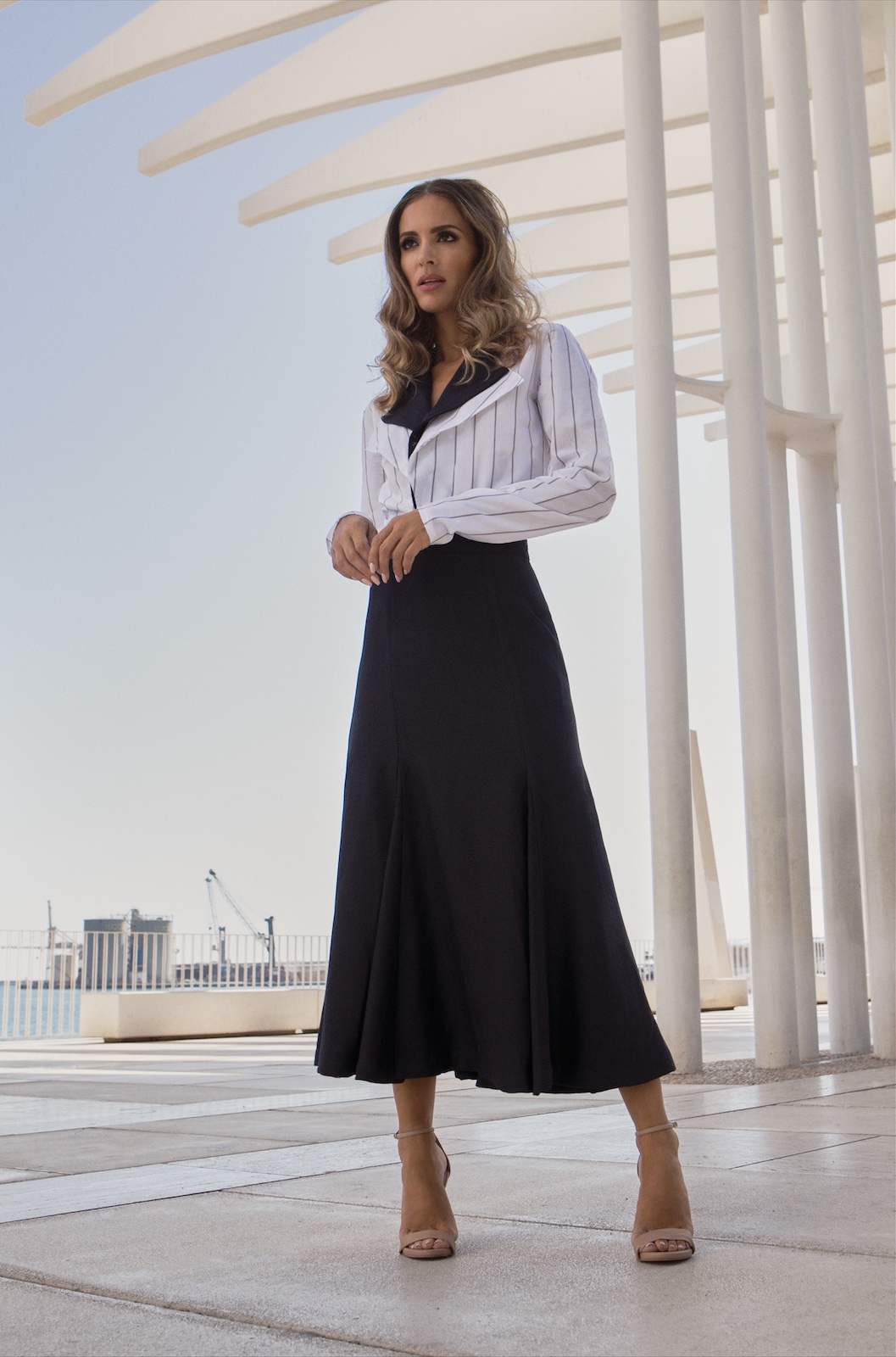 Anchor Top - Riviera Skirt