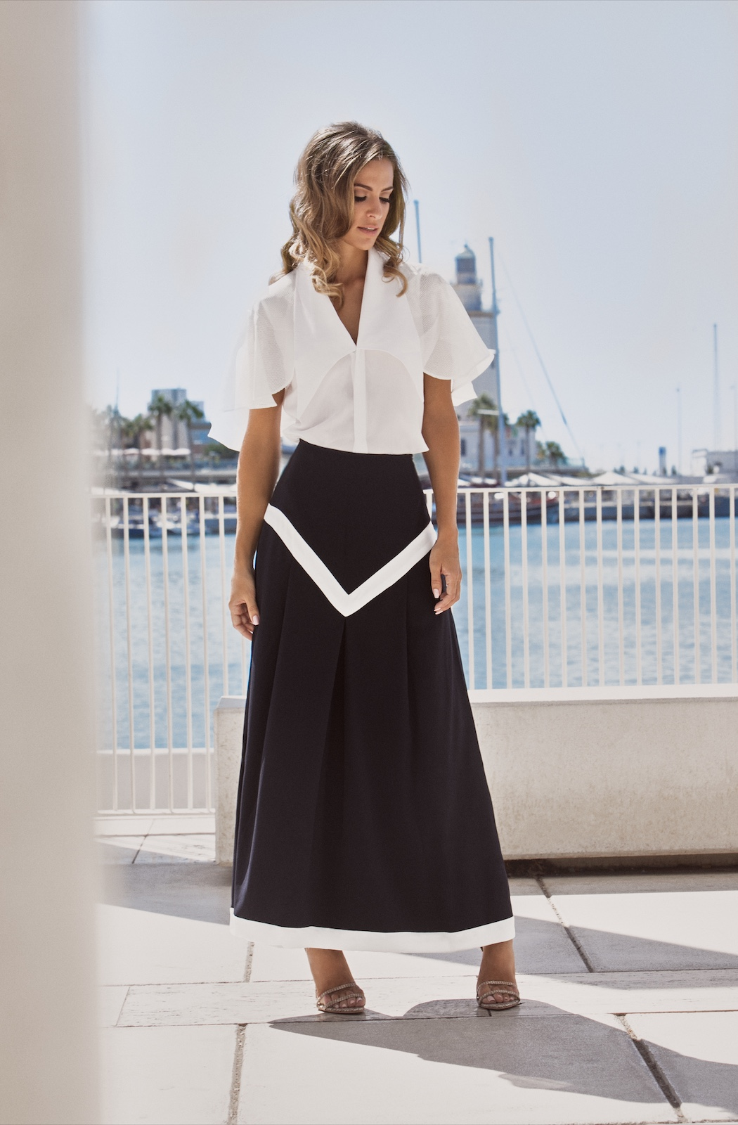 Riviera Top - Nautical Skirt