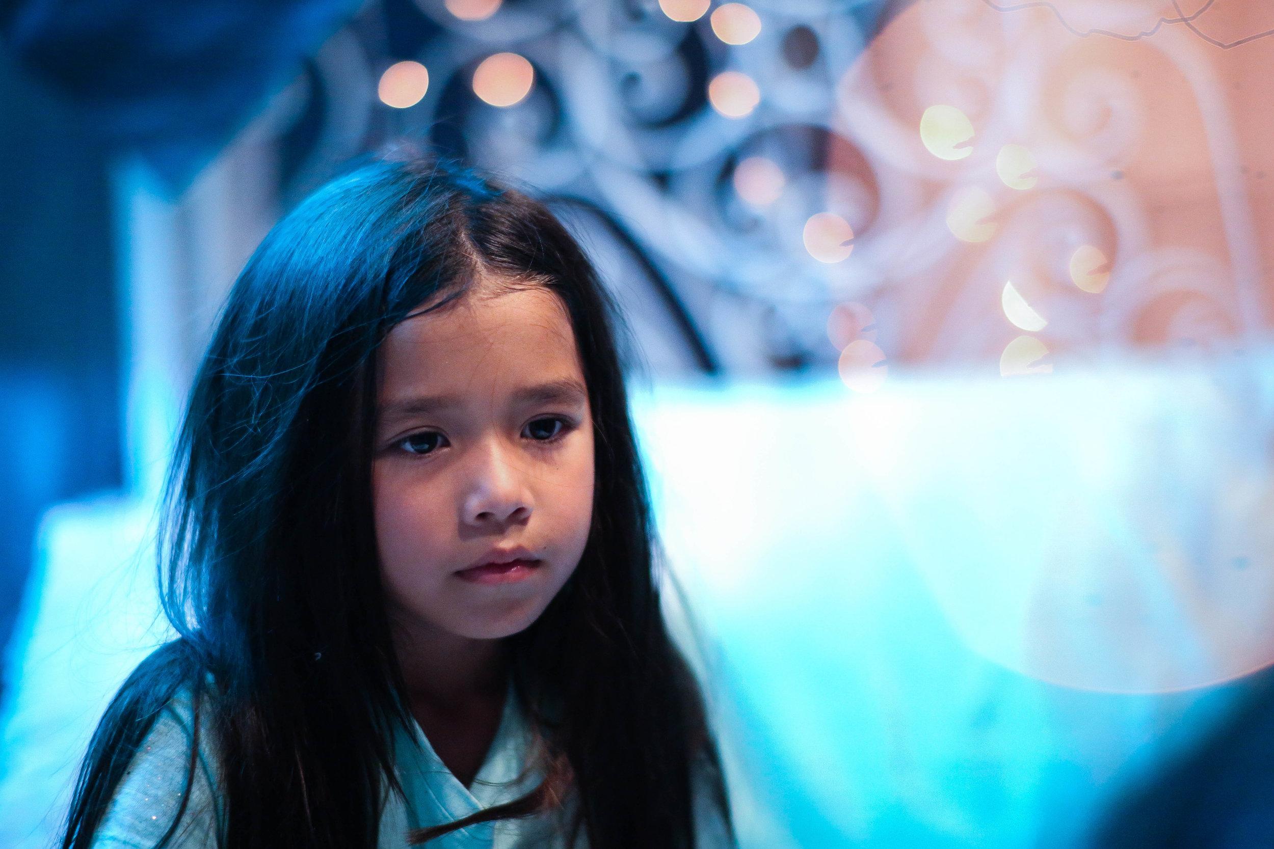 Mai Brunelle as Young Ella. Photo credit Di Wei.
