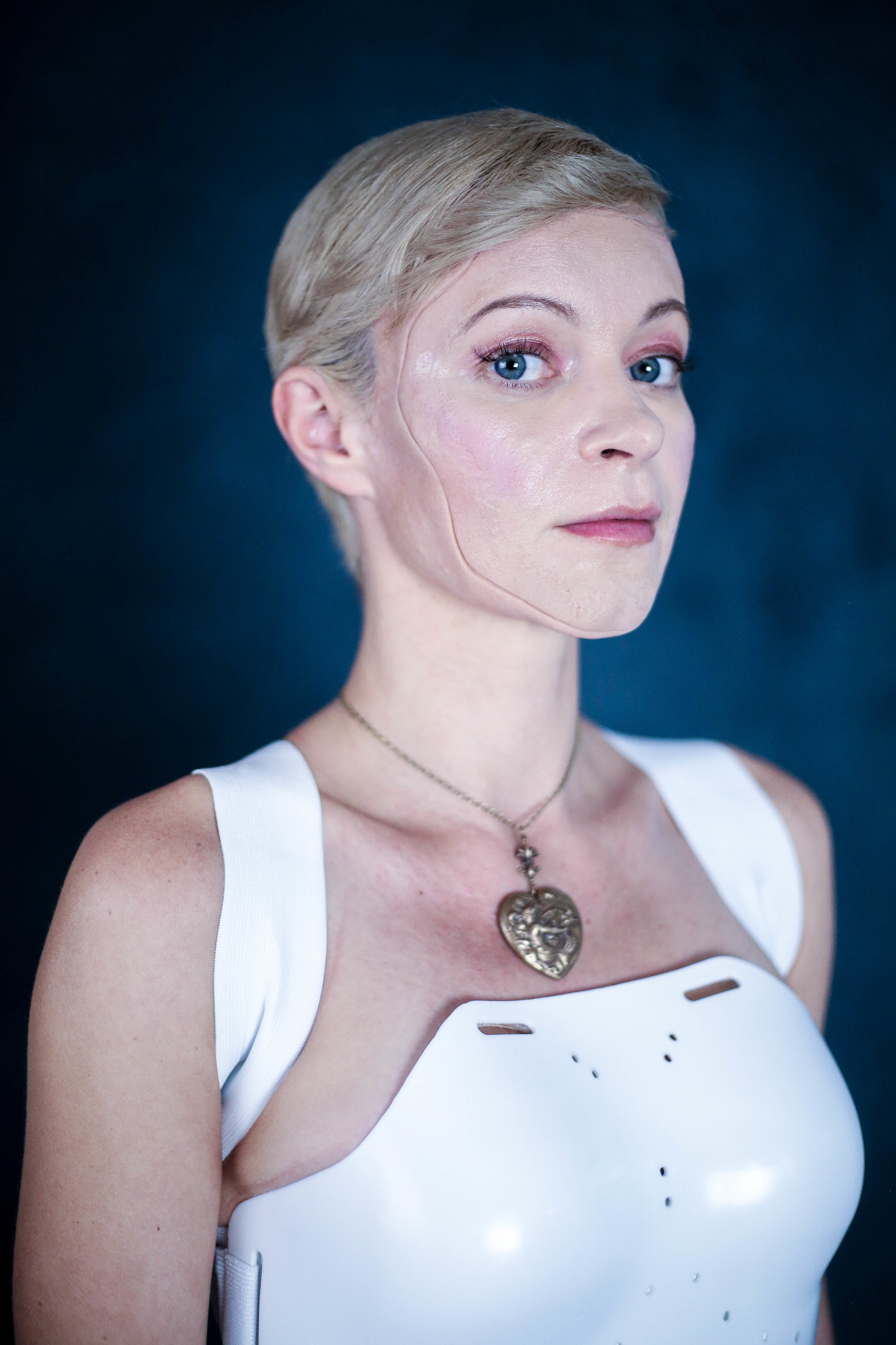 Actress Kestrel Leah as Andromeda, the Android with a heart. Photo credit Di Wei.