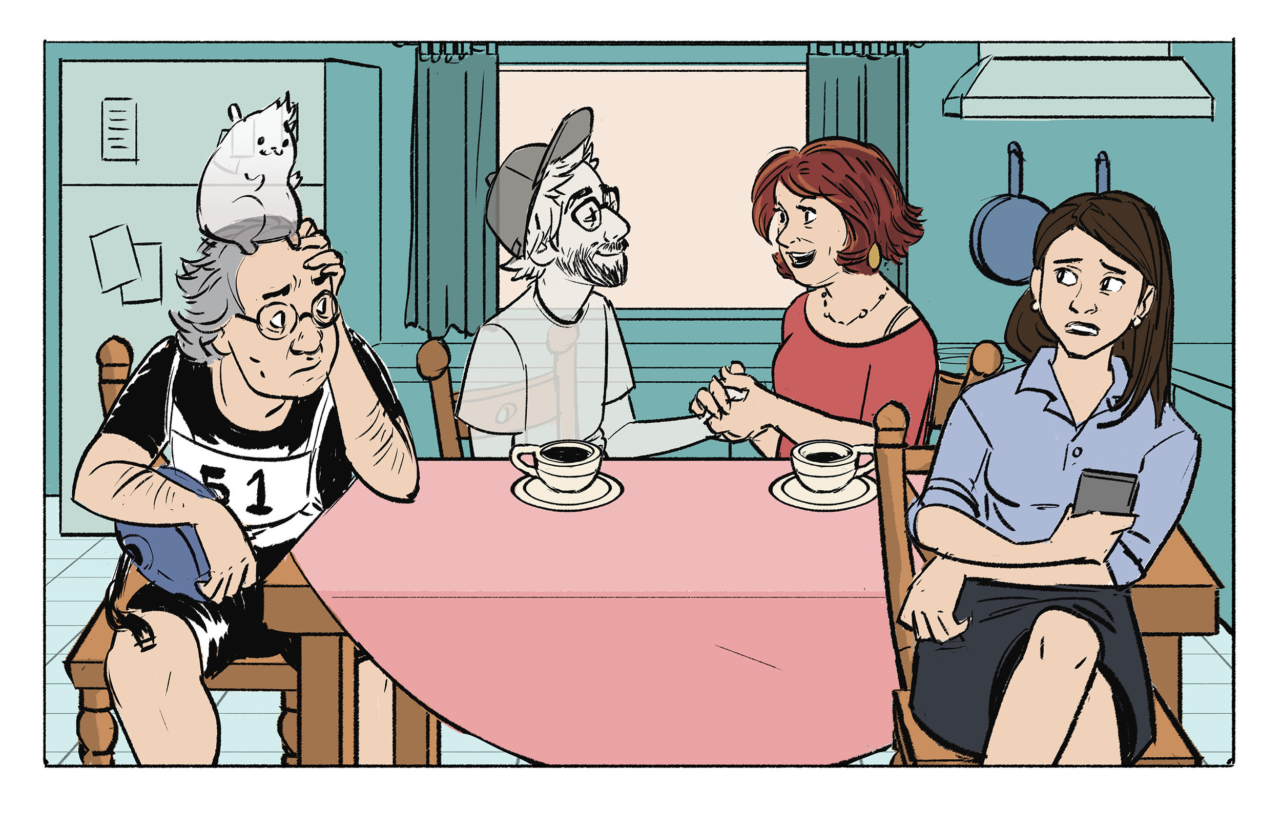 Ghost Fogel visits home and appears to his Mother, but not the rest of his family.