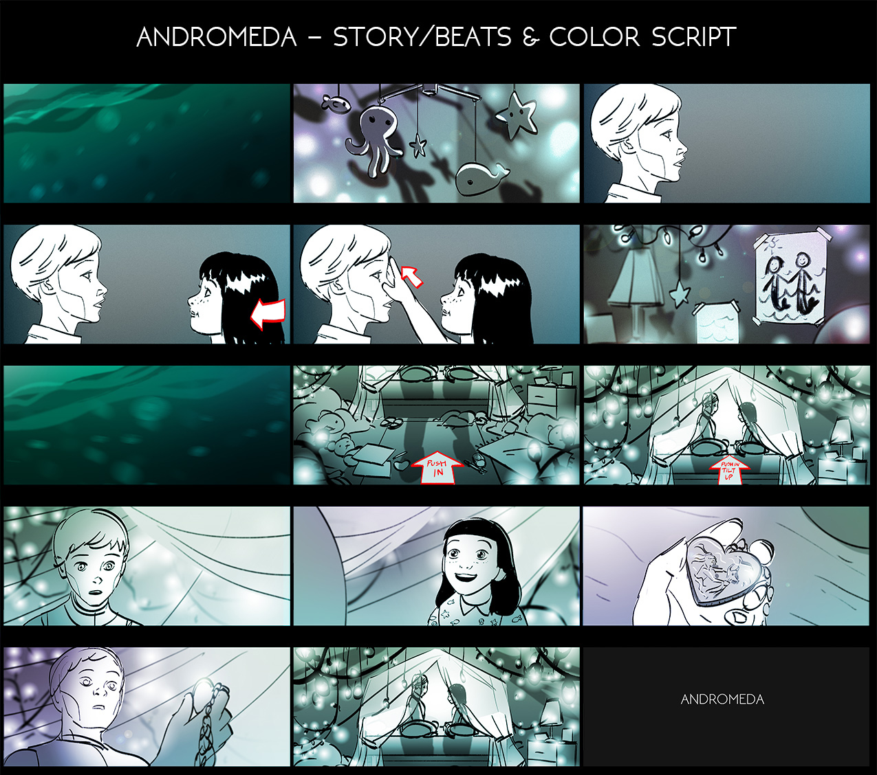 Storyboards by Emily