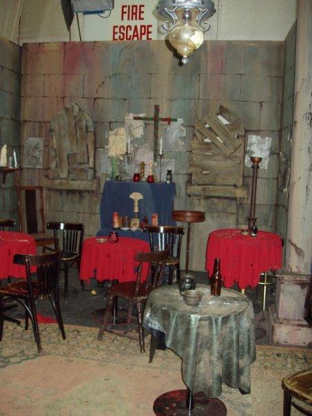 Post-apocalyptic Church turned Tavern