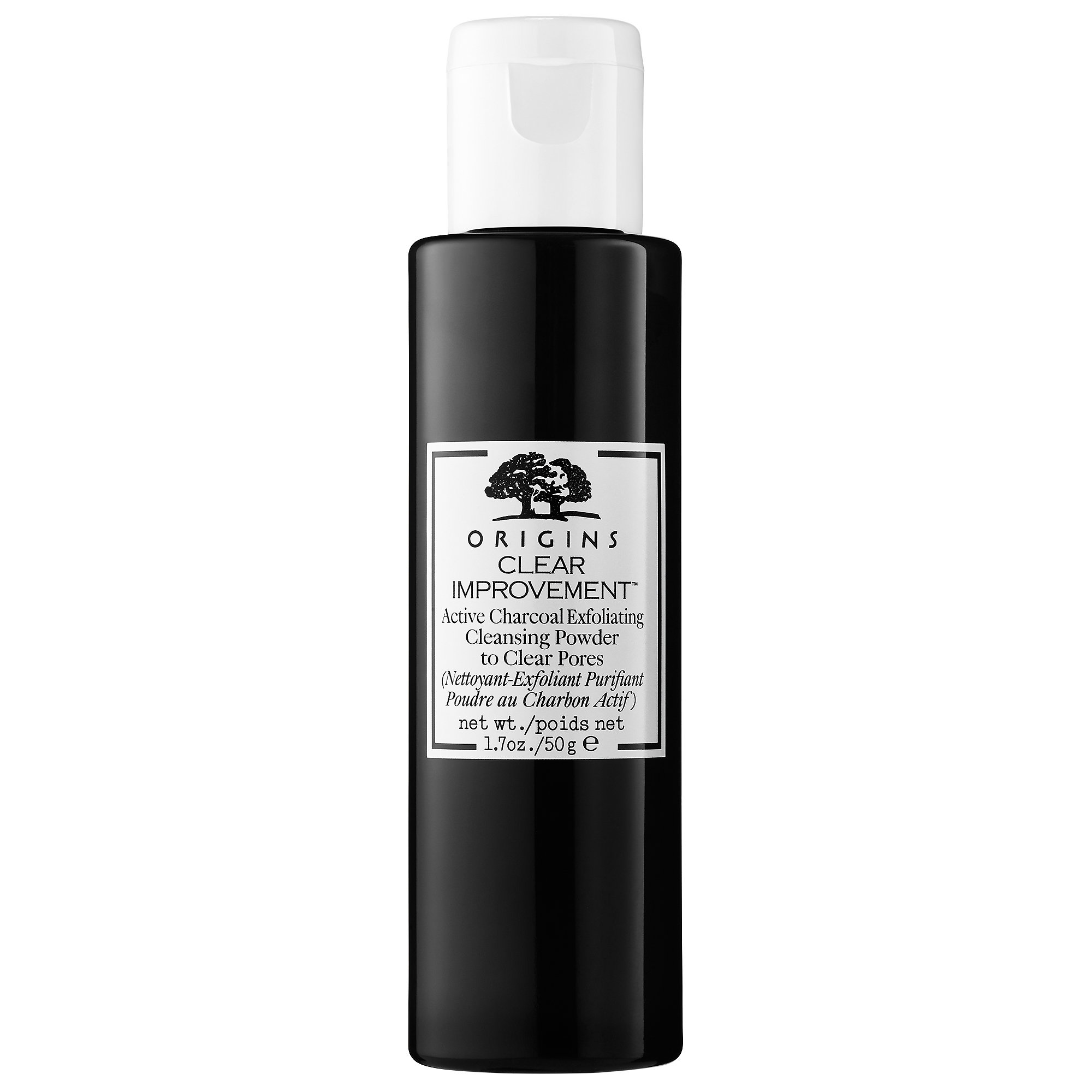 Origins Active Charcoal Exfoliating Cleansing Powder To Clear Pores ($30)