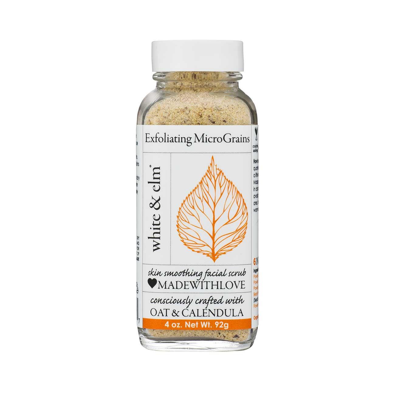 White & Elm Exfoliating MicroGrains ($18)