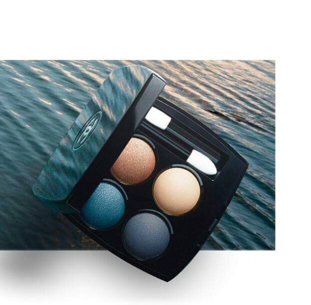 Les 4 Ombres Eyeshadow Palette in Road Movie ($61)