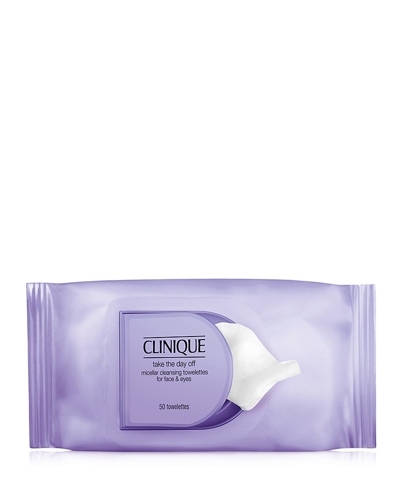 Clinique Take the Day Off Micellar Cleansing Towelettes ($14)