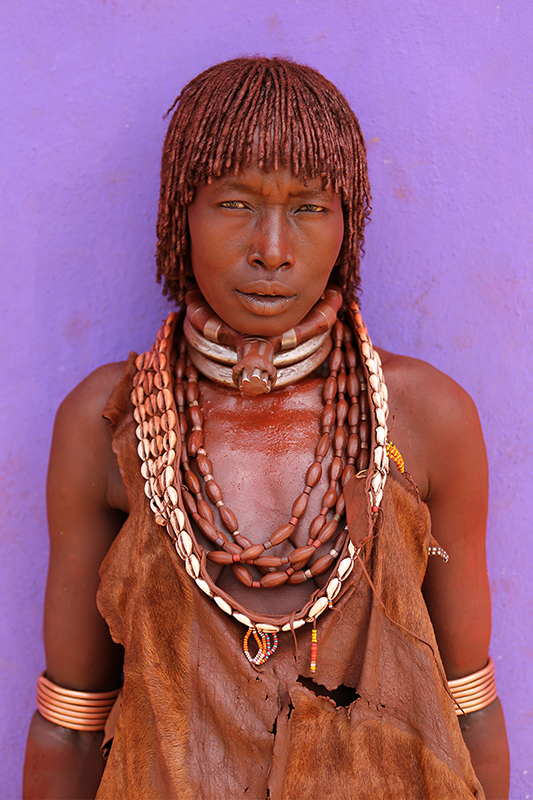 Hamer Tribe Woman