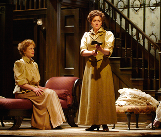 Jane Perry as Miss Lizzie, Laurie Paton as The Actress, Shaw Festival, 2003. Photo by David Cooper